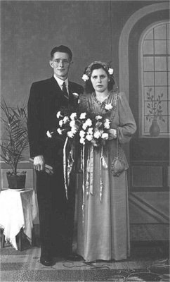 huwelijk sept 1950
